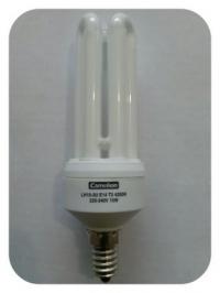 Лампа энергосберегающая модель: LH15-3U/842/T3/E14