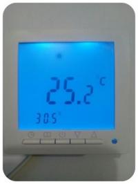 Программируемый терморегулятор SET 09 с большим краном