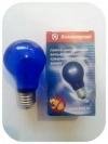 Лампа накаливания синяя 60 Вт, Е27